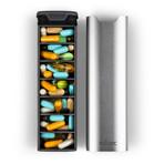 mbarc // Refined 7 Day Pill Organizer // Metallic Silver