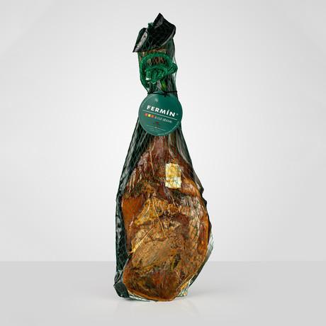100% Iberico Grain-Fed Bone in + Ham Holder // 11 lb