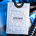 Star Wars Playing Cards // Silver Edition // Set of 2