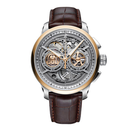 Maurice Lacroix Masterpiece Skeleton Chronograph Automatic // MP6028-PS101-001-1 // Store Display