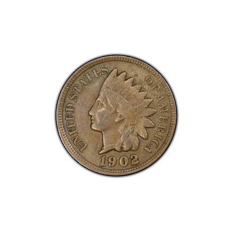 U.S. Indian Head Cent (1880-1909) // Icons of American Coinage Series // Deluxe Display Box