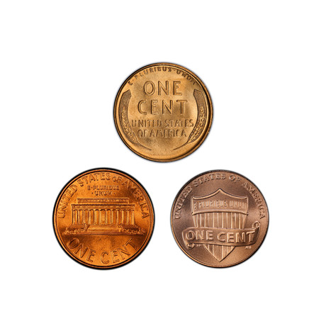 A Century of the Lincoln Cent // Mint State Condition // American Classics Series // Wood Presentation Box
