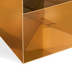 Trou Side Table (Polished Brass)