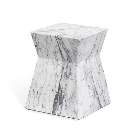 Anita Side Table (Carrara White)
