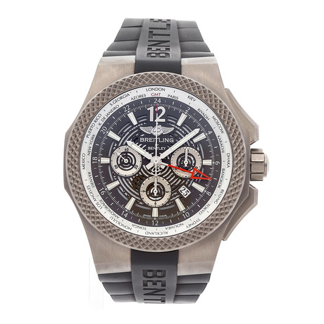 Breitling Bentley GMT Light Body Chronograph Automatic // EB043210/M533 // Pre-Owned