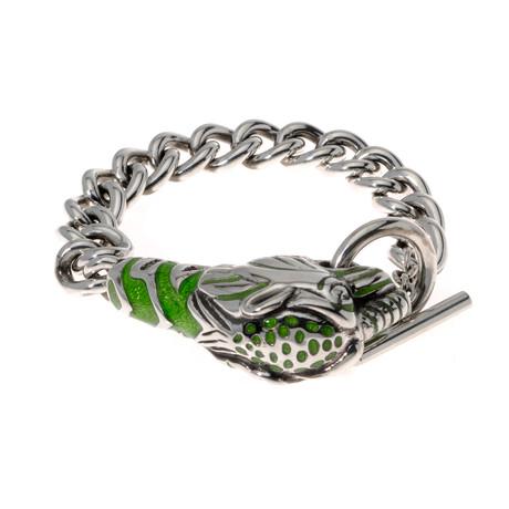 Gucci Sterling Silver Les Marche Des Merveilles Bracelet V // Store Display