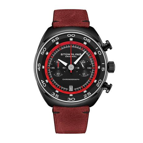 Stuhrling Original Monaco Chronograph Quartz // 1000.06 // New