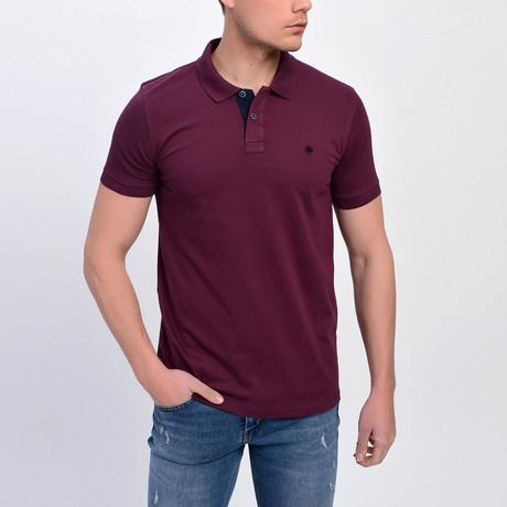 Ross Short Sleeve Polo // Damson (S)
