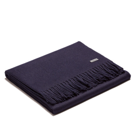 Exclusive Throw // Navy Blue