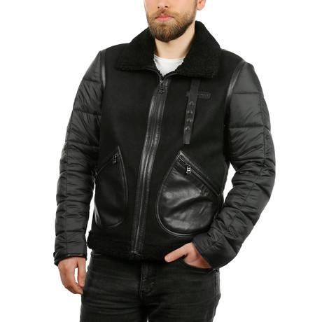 Askel Leather Jacket // Black (XS)