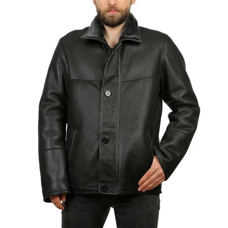 Weston Leather Jacket // Black (XS)