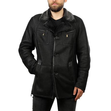 Nelson Leather Jacket // Black (XS)