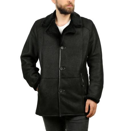Konner Leather Jacket // Black (XS)