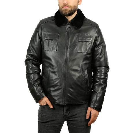 Igor Leather Jacket // Black (XS)