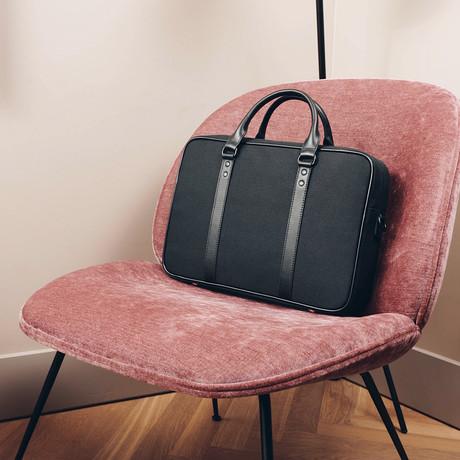 C25 Briefcase // Black