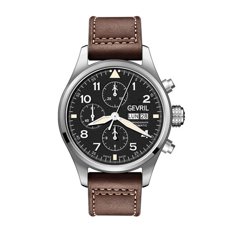 Gevril Vaughn Chronograph Swiss Automatic // 47000