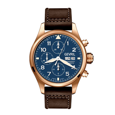 Gevril Vaughn Chronograph Swiss Automatic // 47002