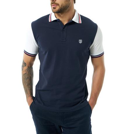 Bonoso Short-Sleeve Polo // Navy (Small)