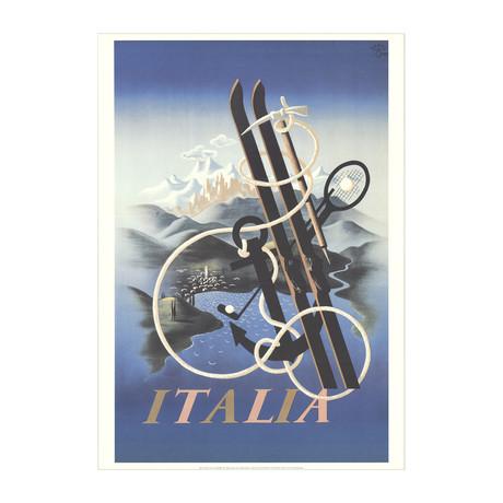 A.M. Cassandre // Italia // 1998 Offset Lithograph