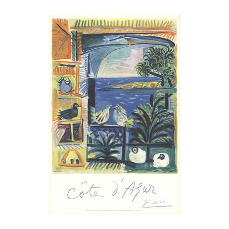 Pablo Picasso // Cote D'Azur // 1968 Lithograph