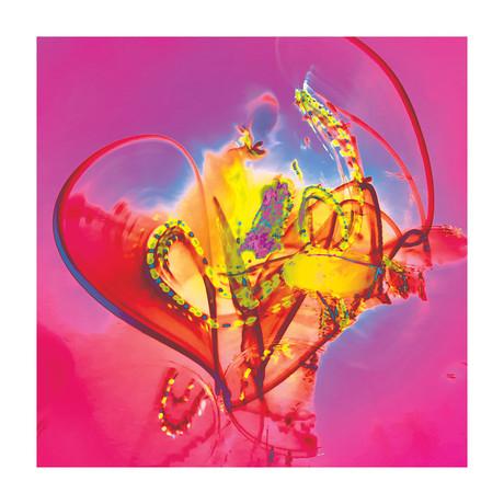 """Ghost Love (16""""W x 16""""H x 0.625""""D)"""