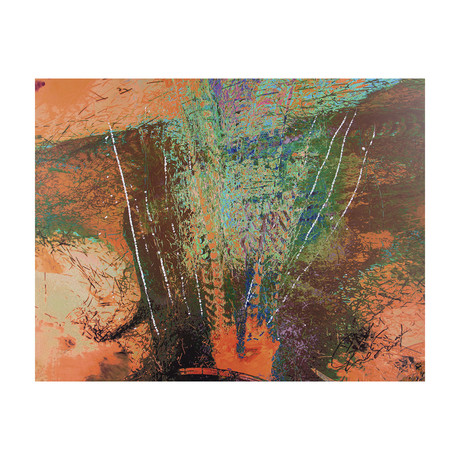 """Exploding Forest (20""""W x 16""""H x 0.625""""D)"""
