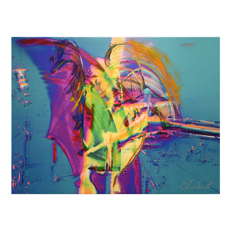 Gondola Marlin // Mixed Media