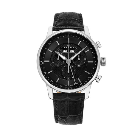 Alexander Watch Chieftain Chronograph Quartz // A101-02