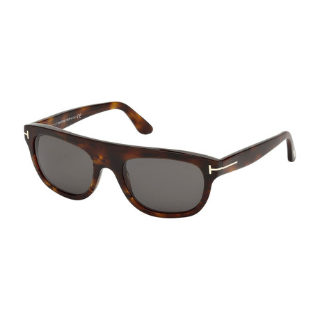 Men's Federico Sunglasses // Dark Havana + Gray
