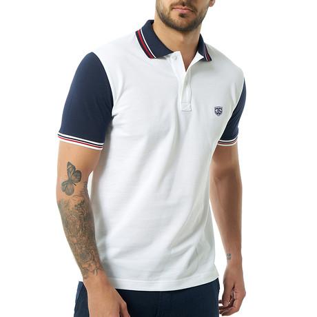 Bonoso Short-Sleeve Polo // White (Small)