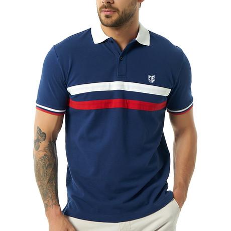 Uruile Short-Sleeve Polo // Navy (Small)
