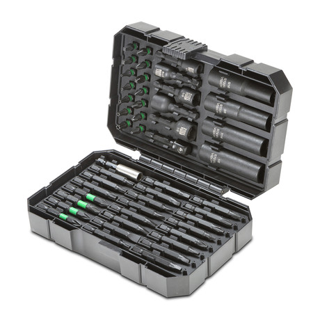 Socket + Torsion Bit Set // 48 Piece