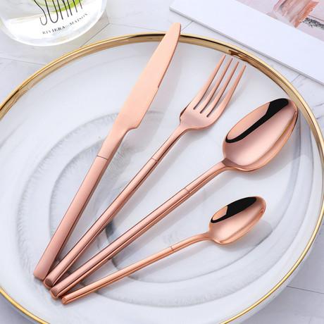 Precision Collection 4 Piece Cutlery Set (Black)