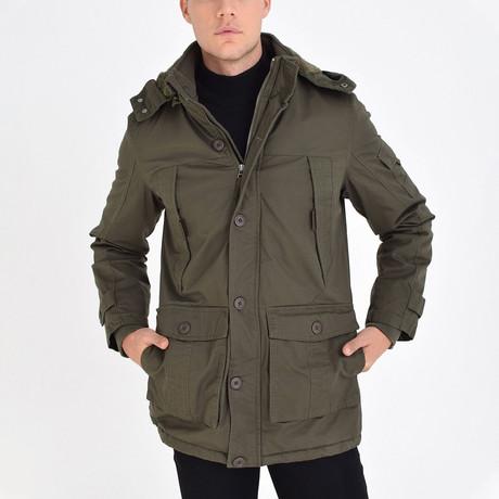 London Coat // Soldier Green (S)
