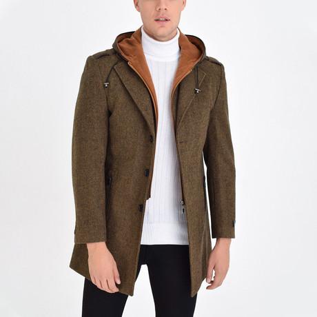 Aspen Coat // Tobacco (S)
