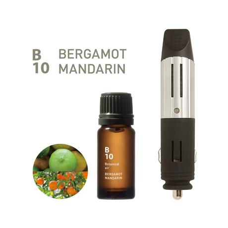 Drive Time Diffuser Bundle // B10 Bergamot Mandarin