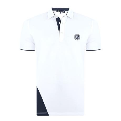 Travis Short Sleeve Polo Shirt // White (XS)