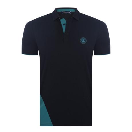 Harden Short Sleeve Polo Shirt // Black (XS)