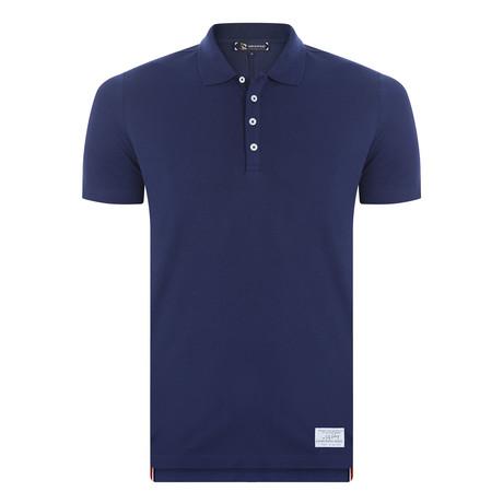 Harry Short Sleeve Polo Shirt // Navy (XS)