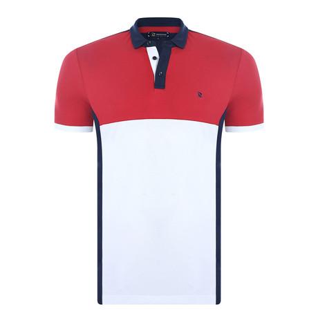 Clark Short Sleeve Polo Shirt // Navy (XS)