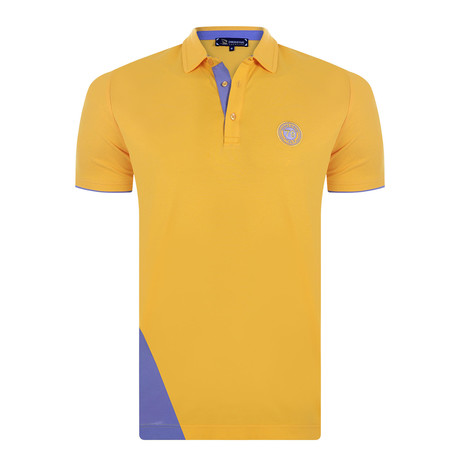 James Short Sleeve Polo Shirt // Mustard (XS)