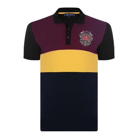 Paul Short Sleeve Polo Shirt // Black (XS)