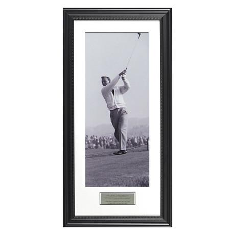 Arnold Palmer // Black & White // Collectible Display
