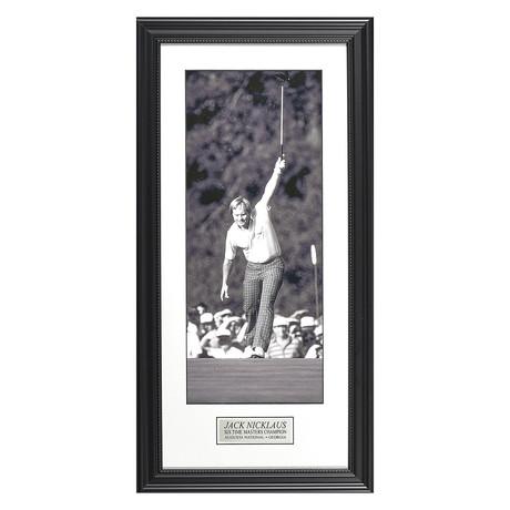 Jack Nicklaus // Black & White // Collectible Display