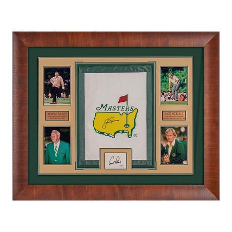 Jack Nicklaus + Arnold Palmer // Autographed Display