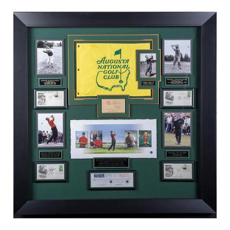 Grand Slam Champions // Autographed Display