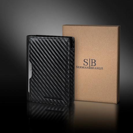 5.S Wallet // Carbon Fiber Pattern