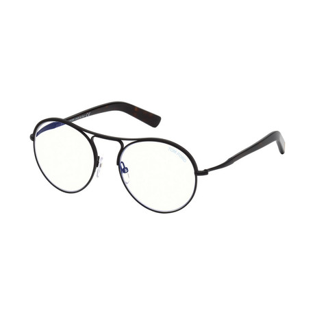 Men's Round Optical Frames // Black