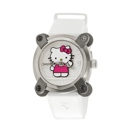 Romain Jerome Ladies Moon Invader Hello Kitty Automatic // RJ.M.AU.IN.023.01 // Unworn