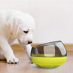 Tumbowl // Slow Feeding Pet Bowl (Blue)